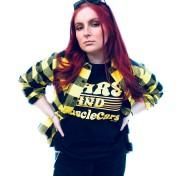 Rebell Tshirt Bars & musclecars svart unisex