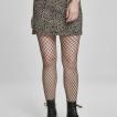 URBAN Classic leopard mini kjol jeans