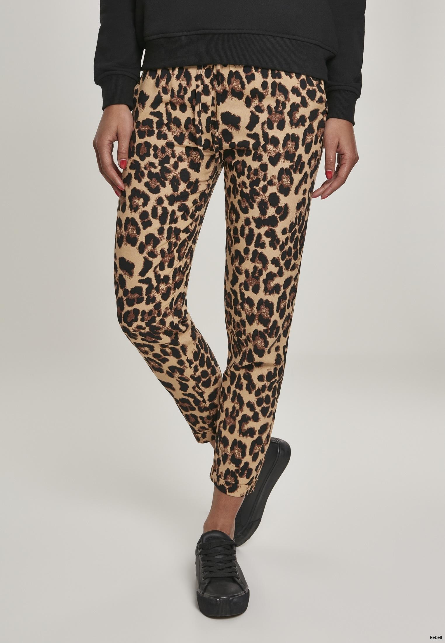 leopard leopardbyxor rebell rocknroll