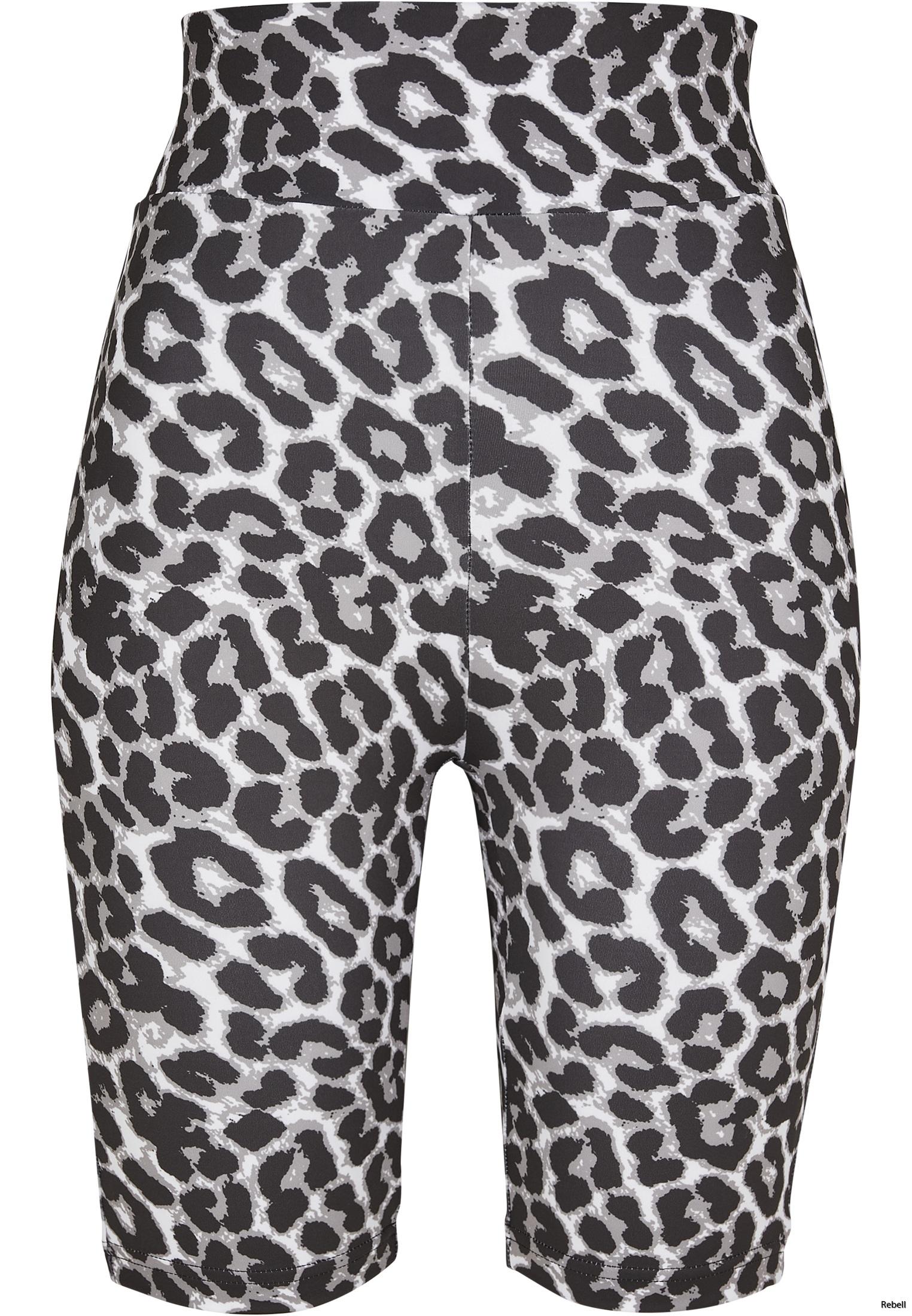 leopard nyhet leggings cykelbyxa leopardbyxa leopardshorts