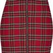 URBAN Classic röd rutig kjol