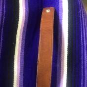 rebell smycke Läder armband CLEAN BRUN