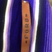 rebell smycke Läder armband FORD
