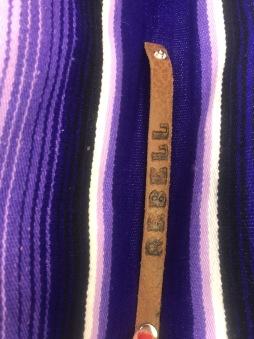 rebell smycke Läder armband REBELL LITEN
