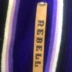 rebell smycke Läder armband rebell LJUS