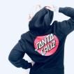 Santa Cruz hoodie klassisk dot zip hoodie  svatunsiex