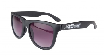 Santa Cruz  solglasögon svarta vit santacruz tryck unisex