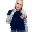Santa Cruz  tshirt classic tryck fram & ibak svart unisex
