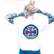 Independent tshirt vit 78 cross unisex