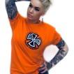 Independent Tshirt orange unisex