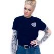 Independent tshirt svart 78 cross unisex