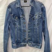 Junk  jeansjacka Lee blå