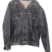 Junk  jeansjacka Rocky grå/svart L