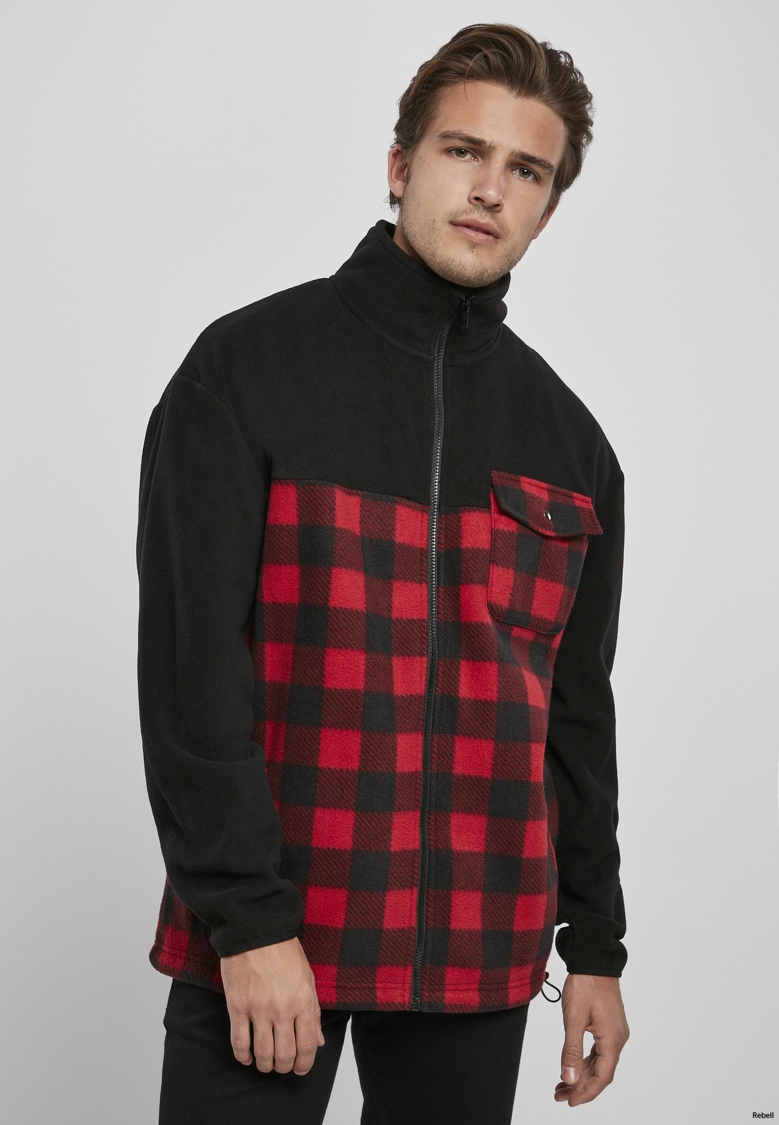 rutig jacka skjorta rebell hoodie biker höstjacka höstkläder rock motorcykel