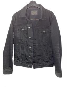 Junk svart jeansjacka  Crocker M