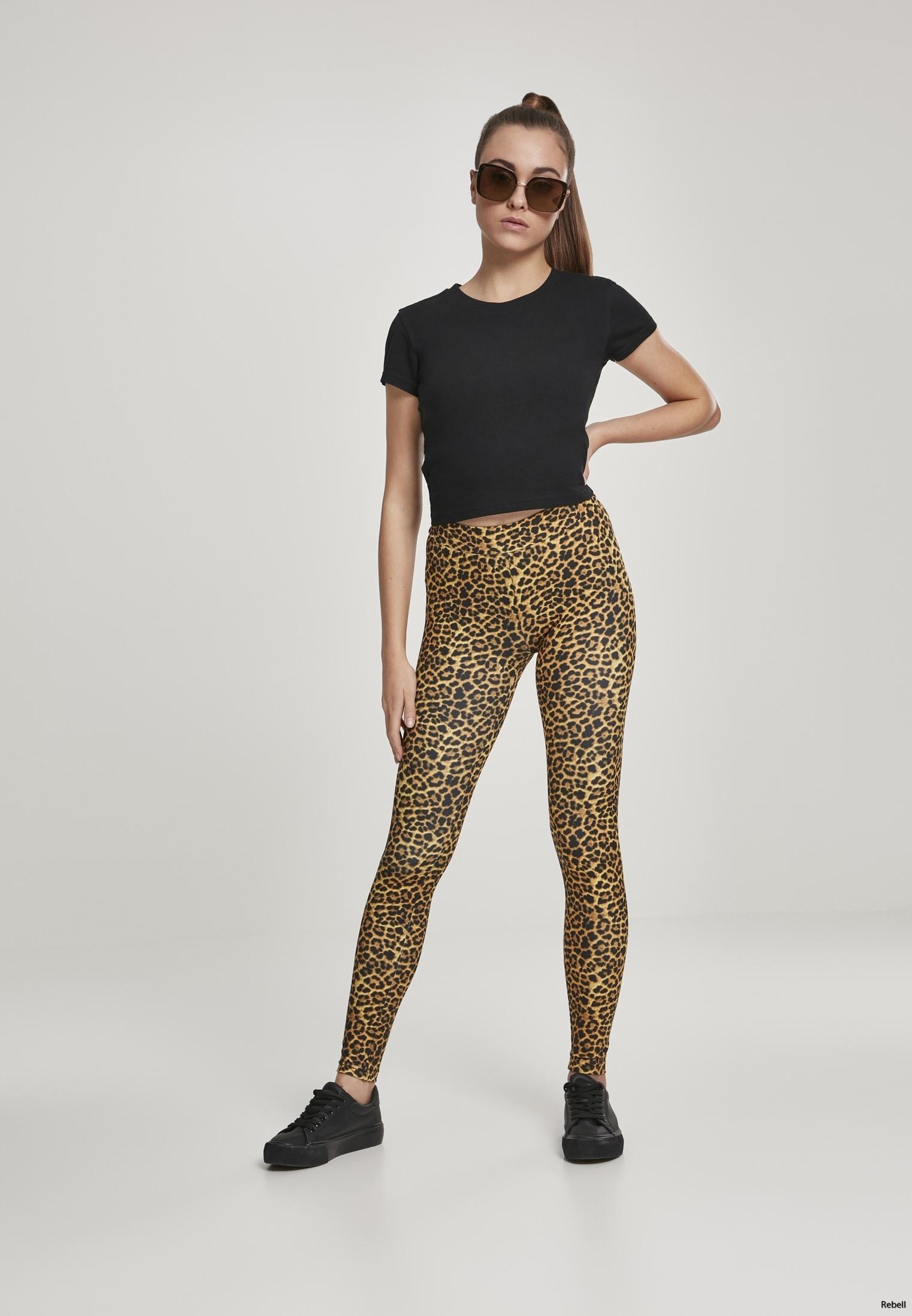 Leopard leggings leopardkläder leoparleggings leopardbyxor rock rocknroll rockabilly