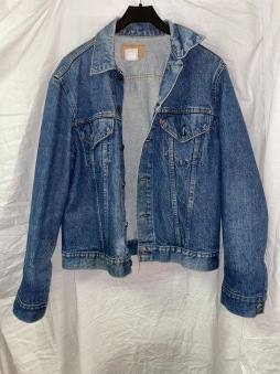 Junk  jeansjacka levis 42 vintage