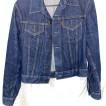 Junk jeansjacka levis vintage mörk jeans