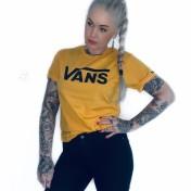 Vans Tshirt classic senapsgul unisex