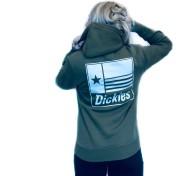 Dickies hoodie grön taylor unisex