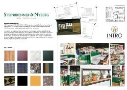Inredning Café, Interior, INTRO, @introinterior, Inredning för Steinbrenner & Nyberg