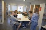 Vårt första filmmöte med eleverna på Ekebyhovs grundsärskola.