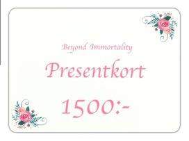Presentkort 1500:-