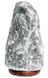 Svart Saltlampa ca 3-5 kg