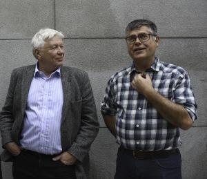 Trygve Nylund, projektledare och Kjell Sjundemark, förbundschef arbetar för att öka samordningen.