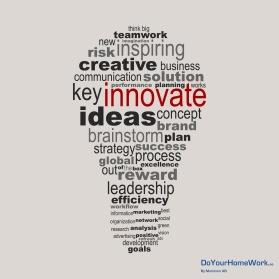 DoYourHomeWork erbjuder workshops där du får hjälp att generera/verktyg för att testa nya affärsidéer, produkter & tjänster.