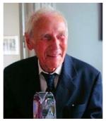Professor emeritus Erik Odeblad.