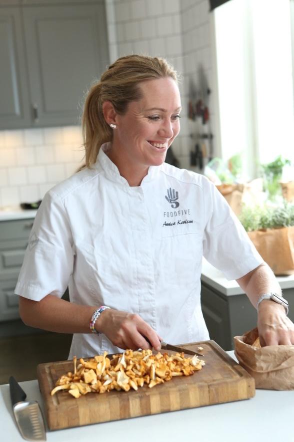 Annica Karlsson grundare Food Five