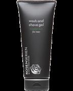 Wash and shave Gel for Men Rosenserien