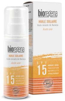 Solskyddsolja SPF15 Bioregena