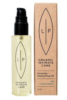 Lip Intimate Care Cleansing Oil Cotton Flower + Oat