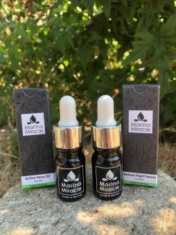 Prova på kit för män med Face Oil och Natt serum från Marina Miracle