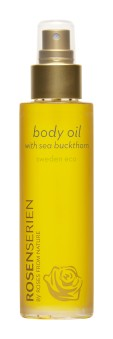 Body Oil with Sea Buckthorn Rosenserien