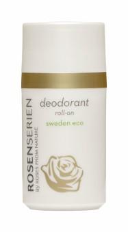 Deodorant roll-on Rosenserien - med mild rosdoft