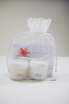 SPA-kit Embrace your body (touch of orient) Viridi Eco - Touch of Orient