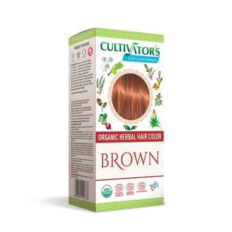 Cultivator´s Organic Hair Colour Brown