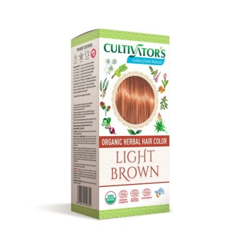 Cultivator´s Organic Hair Colour Light Brown