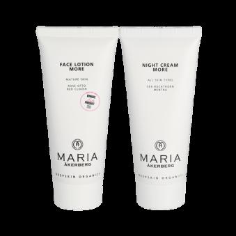 MÅ 24/7 plus set Face Lotion More och Face Cream Night Lotion More - Face lotion more 100 ml och Night Cream more 100ml0ml