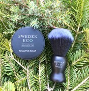 Shaving Soap med Rakborste Sweden Eco