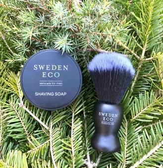 Shaving Soap med Rakborste Sweden Eco