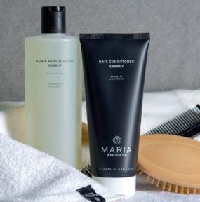 maria åkerberg, schampo och balsam