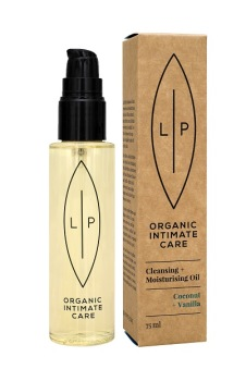 Lip Intimate Care Cleansing Oil Coconut + Vanilla