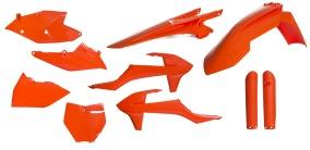 ACERBIS PLASTIC FULL-KIT KTM 16-18, ORANGE 16 -