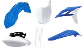 ACERBIS PLASTIC KIT FULL-KIT YAMAHA YZ 250F 10-13, REPLICA BLAU 11 -