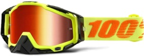 100% Racecraft Attack Goggle - Mirror Red Lens -