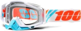 100% Racecraft Calculus Ice - Clear Lens -